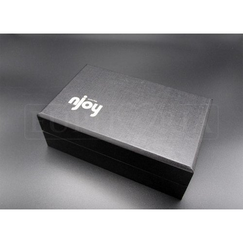 Njoy njoy Pure Plug 2.0 - grote, zware rvs buttplug - 12 x 5 cm