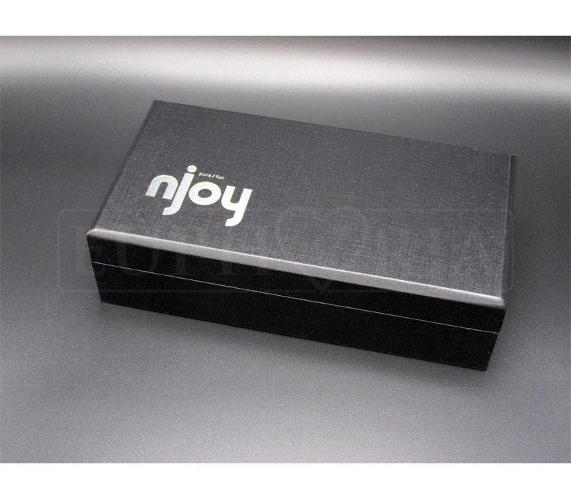 Njoy Pure Wand - Stainless Steel g-spot / p-spot dildo
