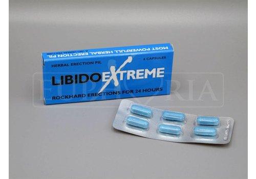 Libido Extreme Erection Capsules - box of 6 pieces