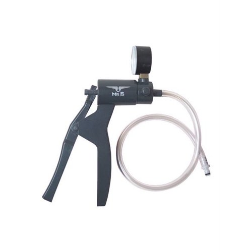 Mister B High quality hand pump with pressure gauge