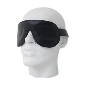 Mister B Premium Leather blindfold - ajustable