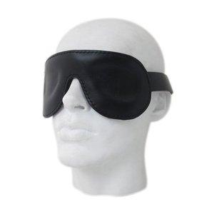 Mister B Premium Lederen oogmasker - verstelbaar