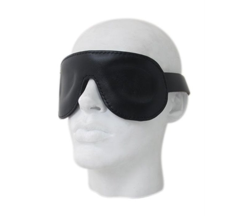 Premium Leather blindfold - ajustable