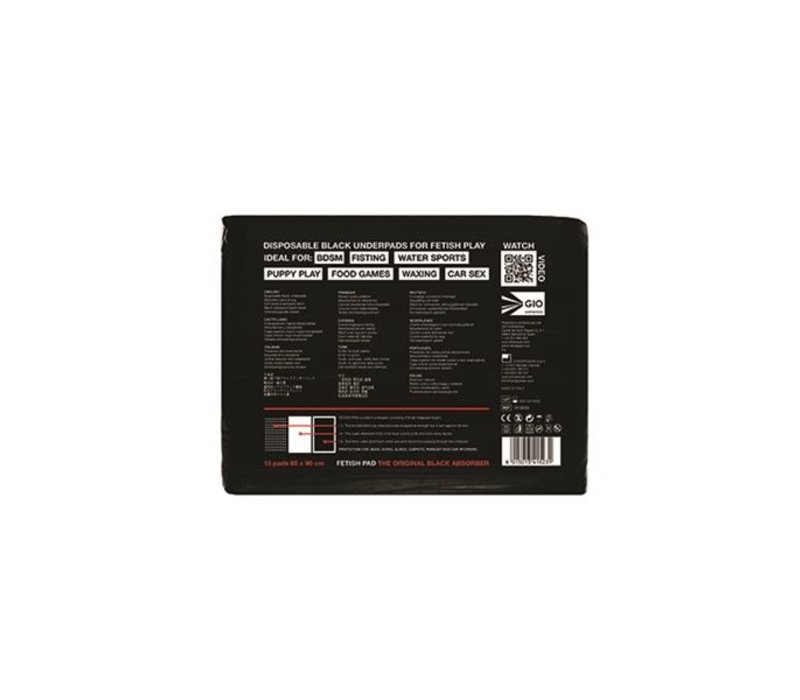 Fetish Pads - 15 wegwerp absorptiematten