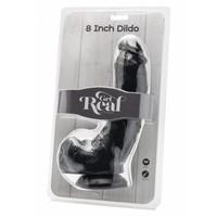 """Get Real Realistische dildo 8"""" (20,5 x 5,0 cm) met ballen"""