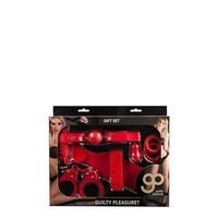 6-piece Bondage gift set Red