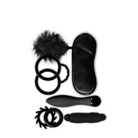 6-piece Bondage gift set Black