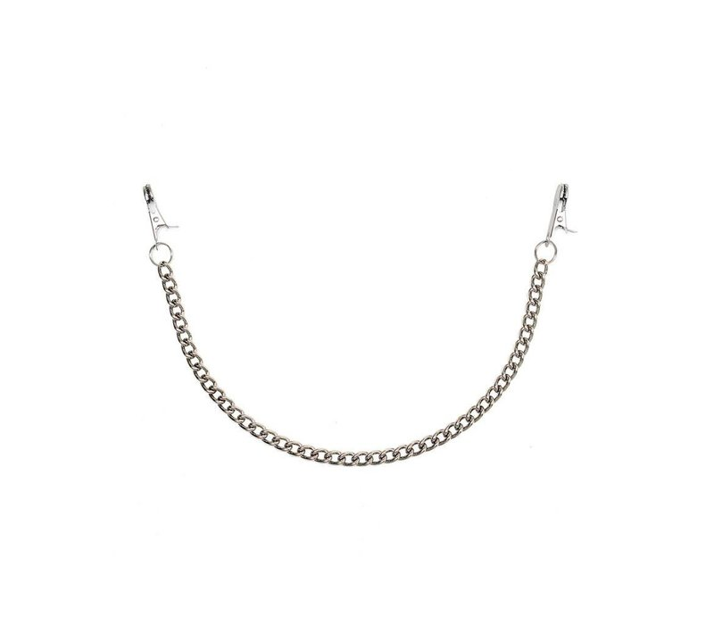 Basic Nipple clamps with chain