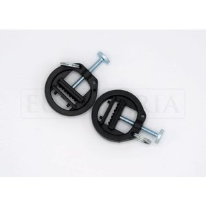 Rimba Adjustable plastic nipple clamps with ring