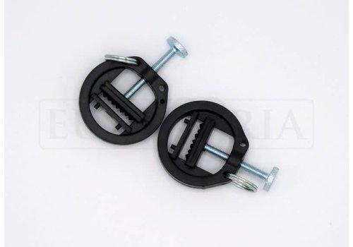 Rimba Verstelbare plastic tepelklemmen met ring