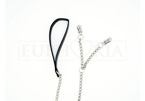 Rimba Nipple- / Labia clamps with belt