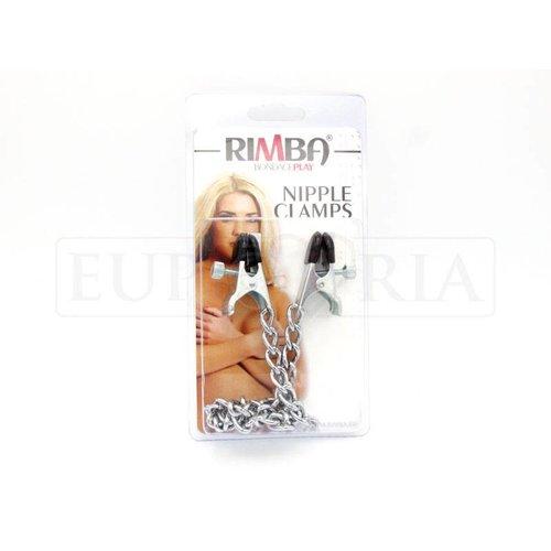 Rimba Adjustable nipple clamps MEDIUM - with chain