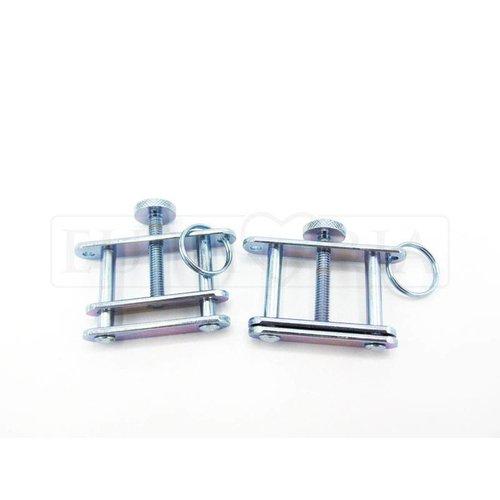 Rimba Tepelklemmen - verstelbaar met schroef