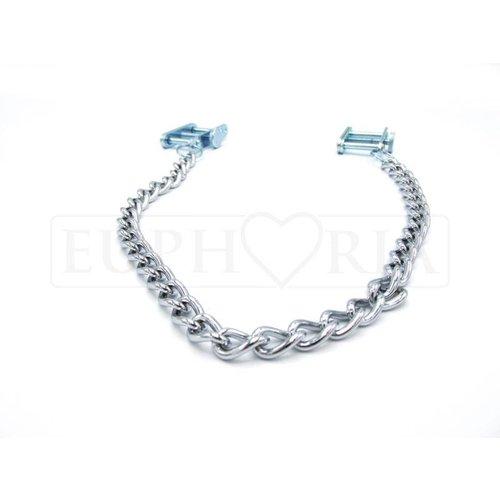 Rimba Adjustable Nipple Clamps with chain