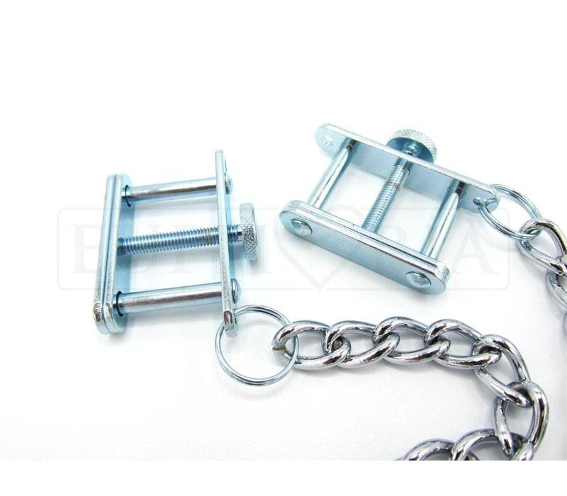 Adjustable Nipple Clamps with chain