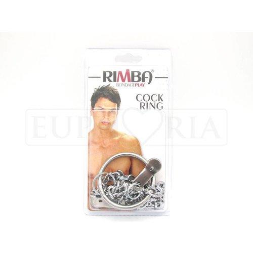 Rimba Tepelklemmen met cockring en ketting - ø 50 mm