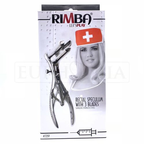 Rimba Anal Speculum with 3 blades
