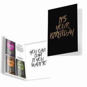 KamaSutra It's Your Birthday - Carte de voeux érotique