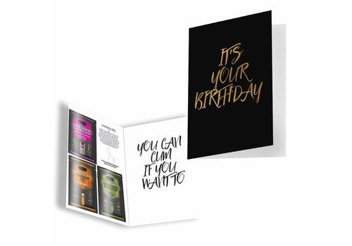KamaSutra It's Your Birthday - Greeting card