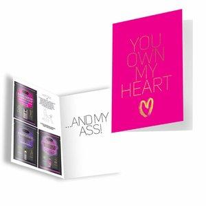KamaSutra You Own My Heart - Carte de voeux érotique