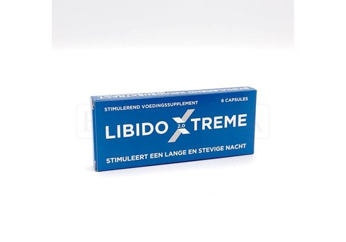 Libido Extreme Libido Extreme 2.0 - Box of 6 capsules