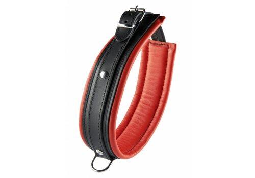 Hidden Desire Leren Collar / Halsband 5 cm