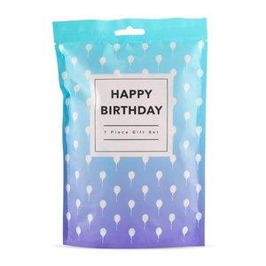 Happy Birthday - 7-delige giftset