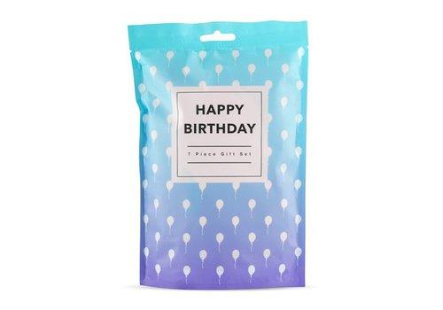 Loveboxxx Happy Birthday - Coffret cadeau 7 pièces