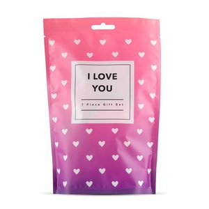 I Love You - 7-piece gift set