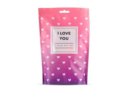 Loveboxxx I Love You - 7-piece gift set