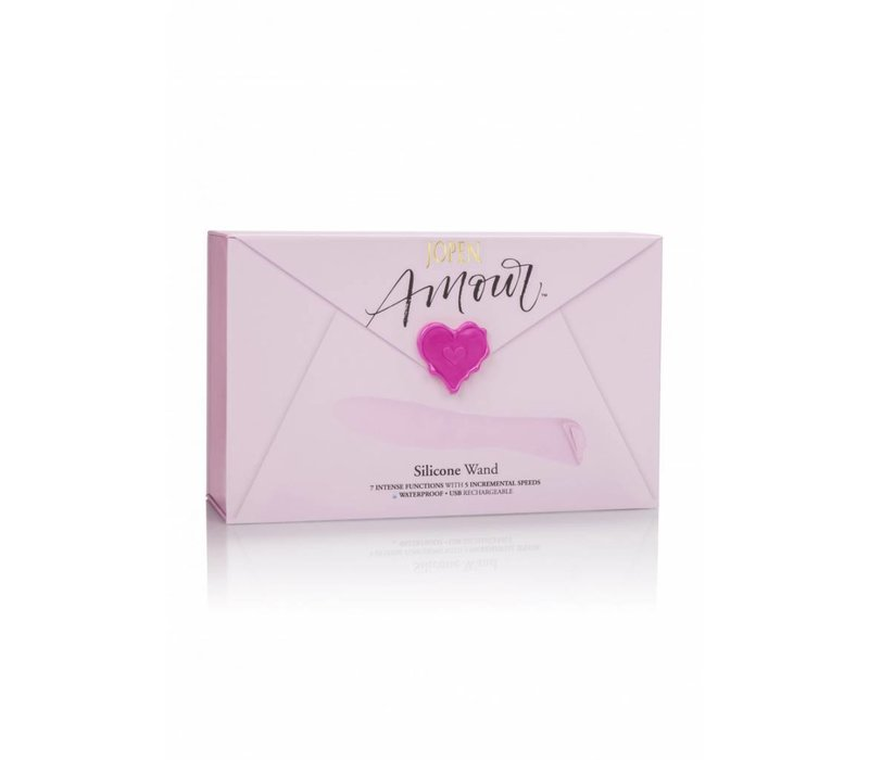 Amour Silicone Wand - 20 x Ø 3,5 cm