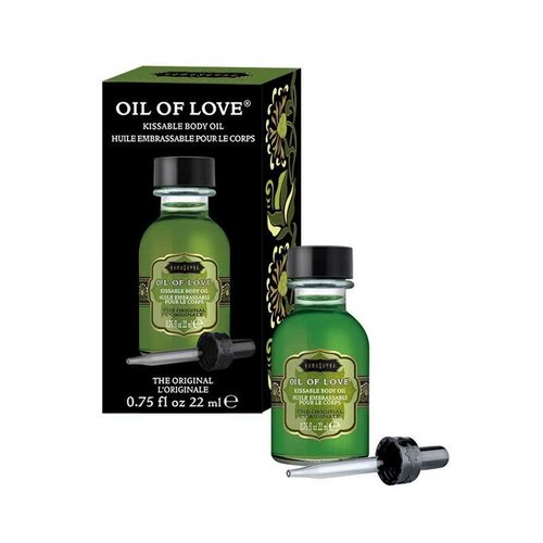KamaSutra Oil of Love - Kissable Foreplay Oil