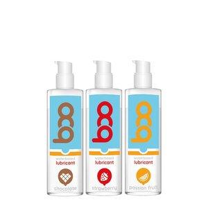 Coffret de 3 lubrifiants aromatisés