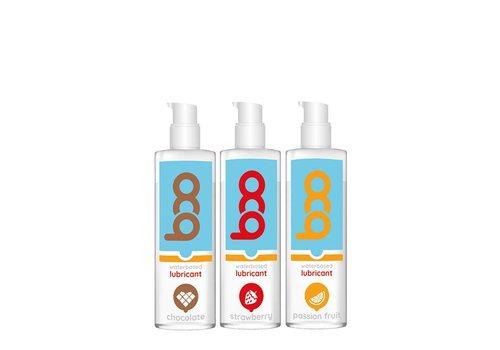 Boo Coffret de 3 lubrifiants aromatisés