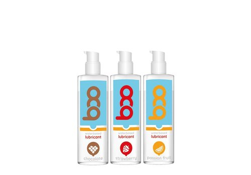 Boo Gift set of 3 flavored lubricants