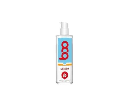 Boo Lubricant with strawberry flavor - waterbased