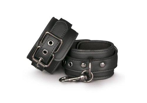 EasyToys Menottes noires pour le bondage