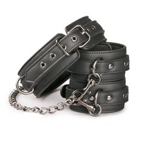 Collar with ankle cuffs & chain