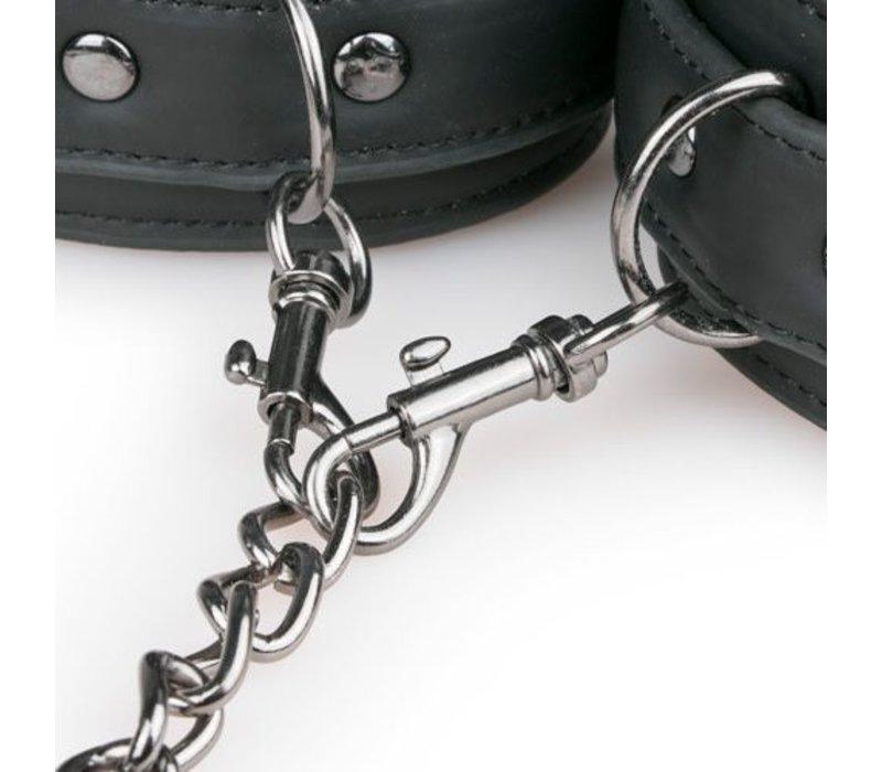 Halsband met enkelboeien & ketting