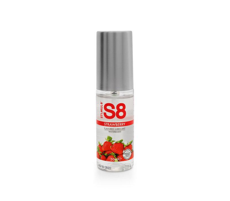 Stimul8 S8 Waterbasis Glijmiddel met Aardbeiensmaak
