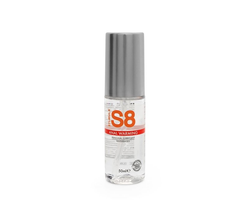 S8 Anal Warming - Verwarmend Glijmiddel voor Anaal op waterbasis