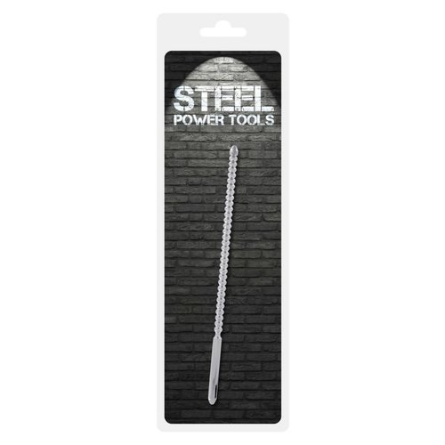 Steel Power Tools Stainless Steel Ribbed Sound / Dilator - ø8 mm (24 cm)