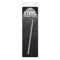 Stainless Steel Ribbed Sound / Dilator - ø10 mm (24 cm)