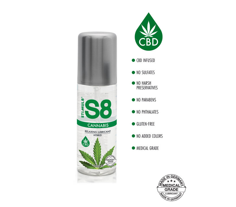 Stimul8 Cannabis - Hybride Lubricant with relaxing CBD