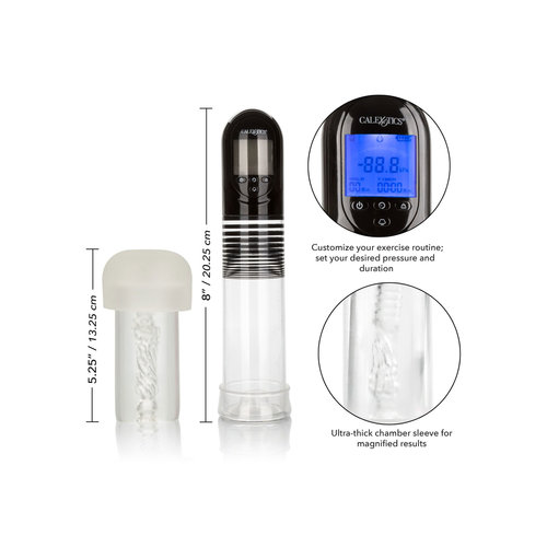CalExotics Advanced Automatic Penis Pump with Masturbator - Rechargeable