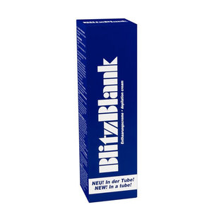 Intimate Hair Removal Cream Blitz Blank