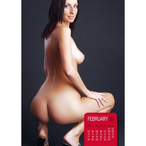 Hot Ass - Bare Butts Pin-Up Calendar 2020