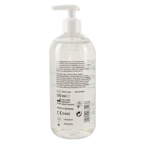 Just Glide Anaal waterbasis glijmiddel met pomp - 500 ml