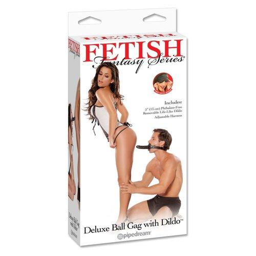 Fetish Fantasy Deluxe Ball Gag with Dildo