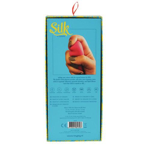 SILK Intense Soft Liquid Silicone Rabbit vibrator